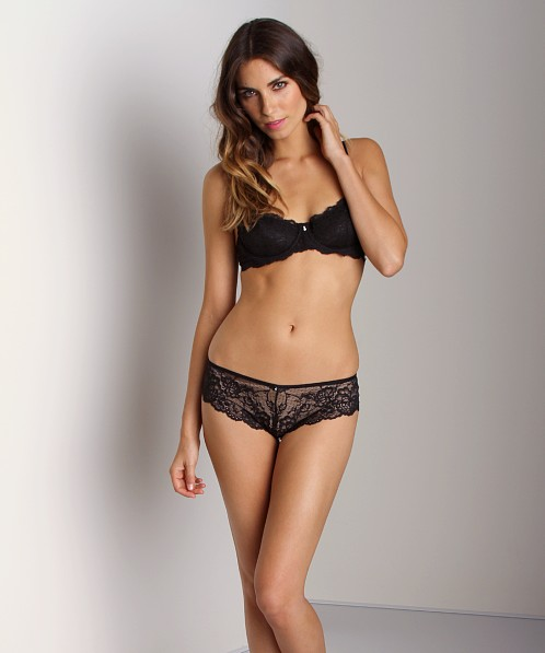Montelle Intimates Brazilian Panty Black Night