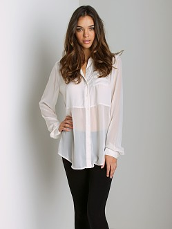 Free People The Best of Both Worlds Shirt Shell