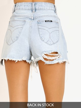 Rollas Dusters Denim Short Layla Bleach