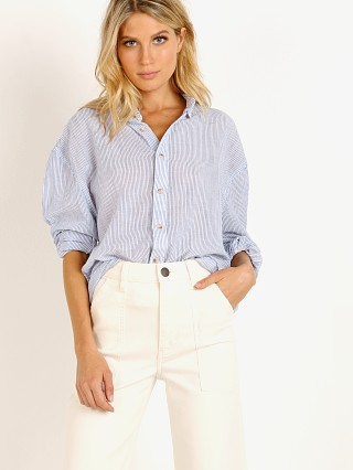 You may also like: Rollas Slouch Stripe Shirt Blue/White