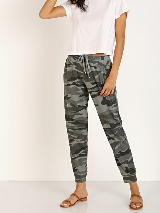 Splendid Jogger Camo Olive Brown