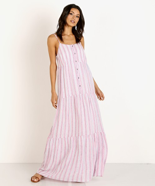 Splendid Maxi Dress Pink Multi