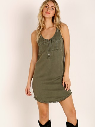 Splendid Tank Dress Green