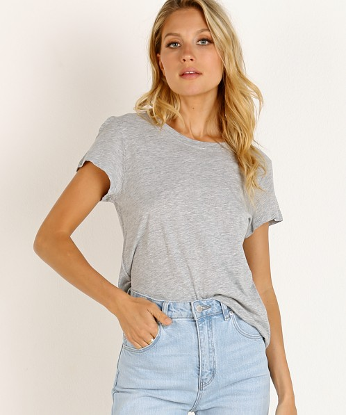 Splendid Abbie Crew Tee Heather Grey
