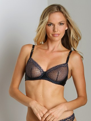 Complete the look: Stella McCartney Emilie Peeking Underwire Bra Dark Ink