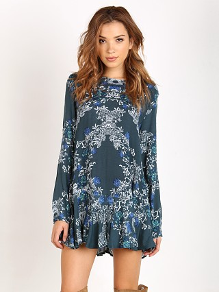 Free People Smooth Talker Tunic Emerald