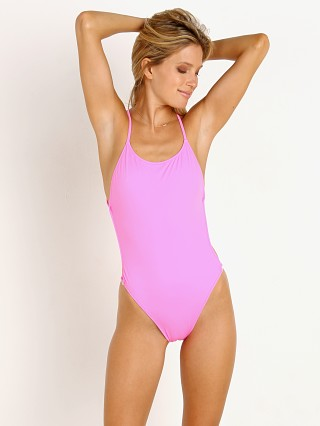 Solid & Striped The Lindsay One Piece Malibu Pink