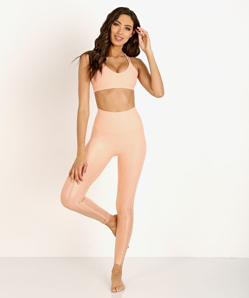 1e9eb3010dc Beyond Yoga Drip Dot Bra Coral Dust + Rose Gold DR8167 - Free Shipping at  Largo Drive