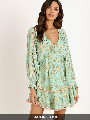Spell & The Gypsy Maisie Playdress Vintage Turquoise