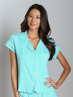 Eberjey Gisele Short PJ Top Spearmint
