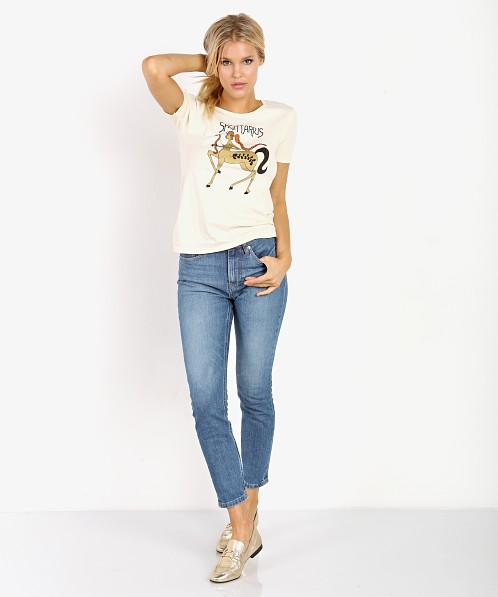 Sugarhigh Lovestoned Sagittarius Tee White