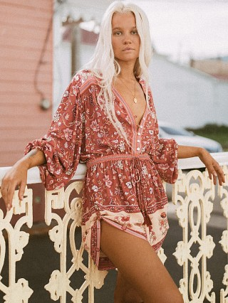 You may also like: Spell & The Gypsy Portobello Road Playsuit Wine