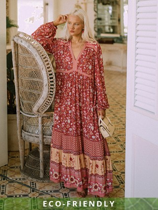 Spell & The Gypsy Portobello Road Gown Wine