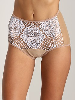 SKIVVIES by For Love & Lemons Scantily Clad High Waist Panty Lil