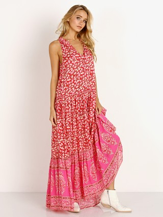 Spell & The Gypsy Delirium Maxi Dress Red Coral