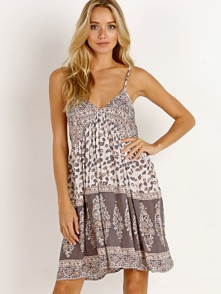 Spell & The Gypsy Delirium Strappy Mini Dress Cream Floral