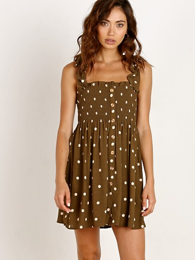 Faithfull the Brand Mika Dress Ronja Dot Print