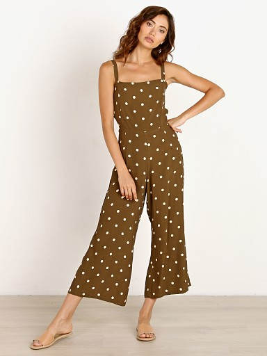 Faithfull the Brand Playa Jumpsuit Ronja Dot Print