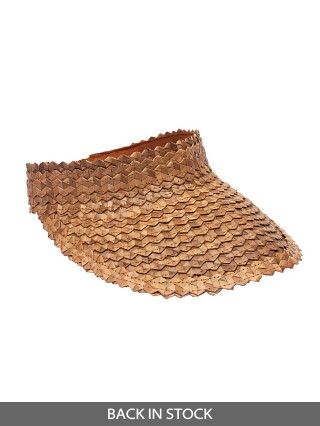 Beach Gold Baha Visor Brown