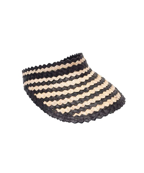 Beach Gold Baha Visor Checkers