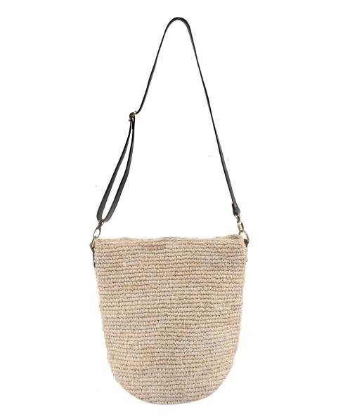 Beach Gold Everyday Bag Black Macrame