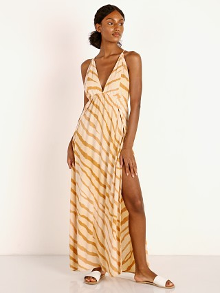 Indah River Wrap Maxi Golden Zebra
