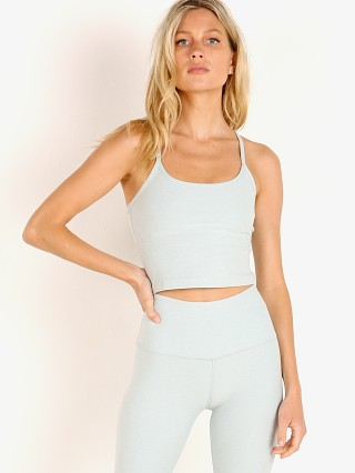 Beyond Yoga Spacedye Slim Cropped Tank Aqua Mist