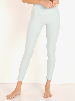 Beyond Yoga Spacedye Midi High Waisted Legging Aqua Mist