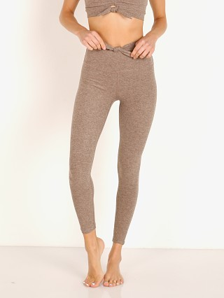 Beyond Yoga Spacedye Knot a Problem High Waisted Legging Mocha