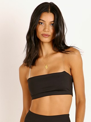 Beyond Yoga Sportflex Clear Bra Black