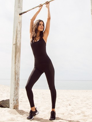 Beyond Yoga Play The Angles Jumpsuit Black