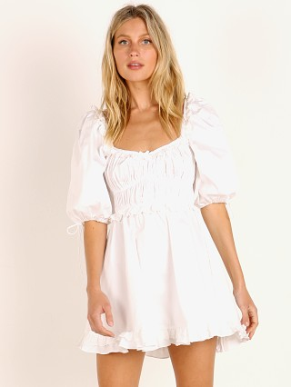For Love & Lemons Jackson Mini Dress Ivory