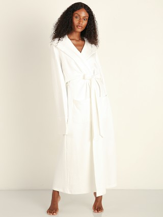 Eberjey Zen Long Spa Robe White