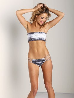 Mikoh Kapalua Multi String Bikini Bottom Underwater Night