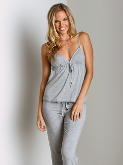 Juicy Couture Modal With Lace Camisole Heather