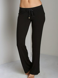 Juicy Couture Modal With Lace Pant Black