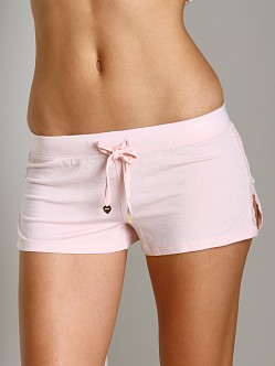 Juicy Couture Modal With Lace Short Pedal Pink