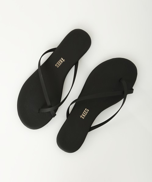 Tkees Riley Sandal Matte Black