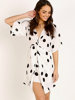 Zulu & Zephyr Float Shirt Dress Polka Dot