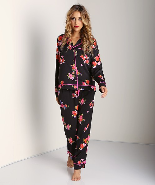 Juicy Couture Jazzy Floral PJ Pant Black