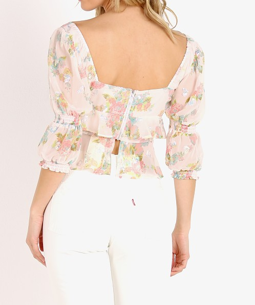For Love & Lemons Paradis Blouse Vintage