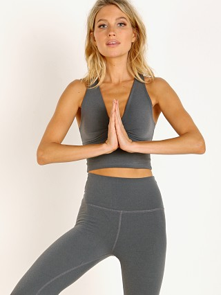 You may also like: Beyond Yoga Plush Twist Around Cropped Tank Heather Grey