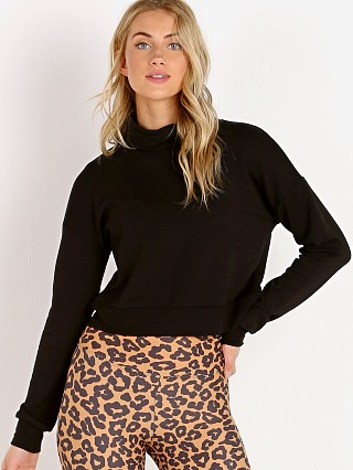Beyond Yoga All Time Cropped Pullover Black