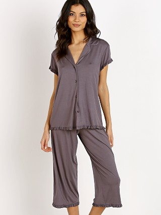 You may also like: Eberjey Ruthie Short Sleeve Cropped Pant Ruffle PJ Set Rabbit