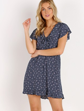 Auguste the Label Jasmine Sunday Mini Dress Navy