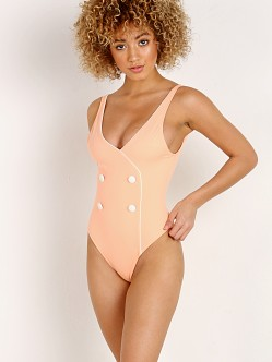 Solid & Striped The Juliette One Piece Peach