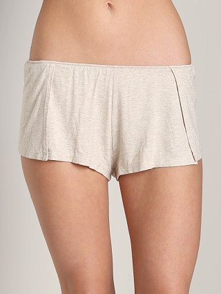 Only Hearts Walk the Line Shorts Oatmeal