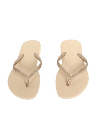Havaianas Slim Solid Flip Flop Light Gold