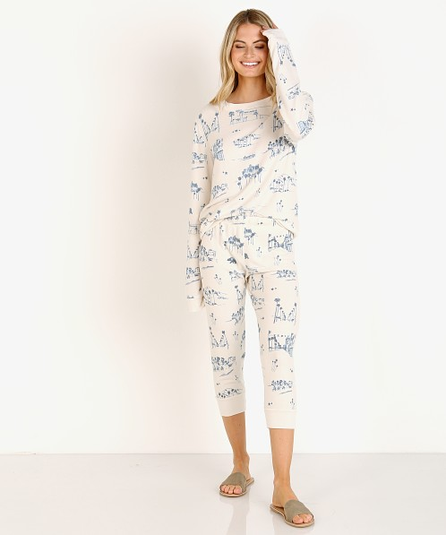 All Things Fabulous Sketchy LA Cozy Sweats Lace
