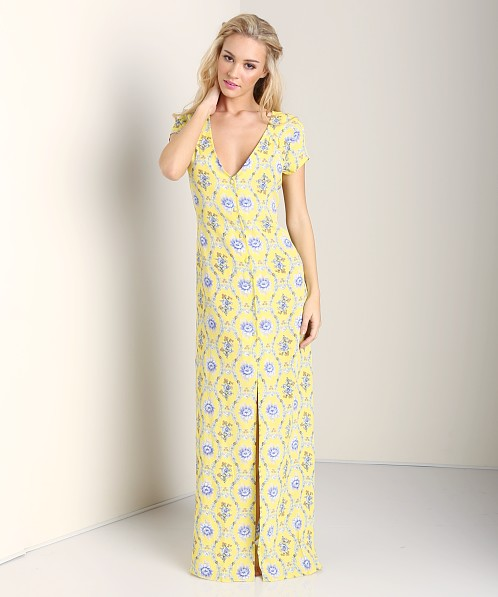Flynn Skye Eterie Dress Yellow Delight